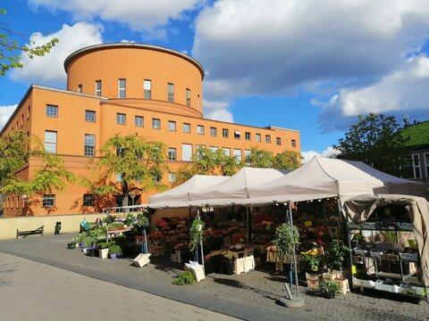 Stockholms Universitet, library in Stockholm.