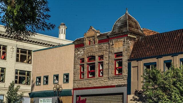 Downtown Rock Springs Wyoming Historic Buildings