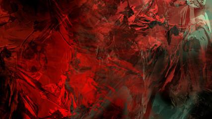 Fototapeten Violett rot Abstract painting brush stroke texture rock nature geological atmospheric landscape illustration background
