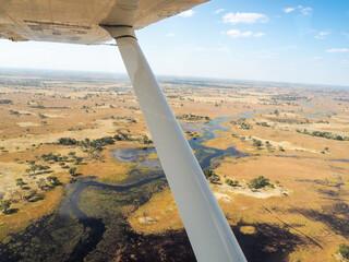 Das wunderschöne Okavango Delta in Botswana
