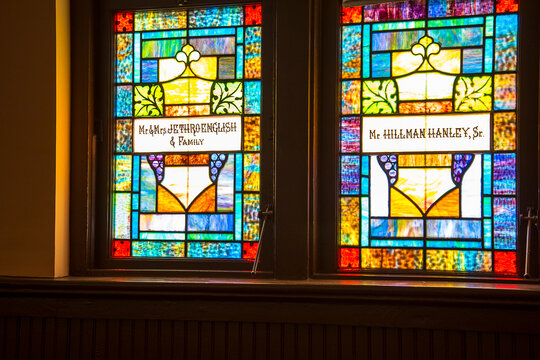 The Ebenezer Baptist Church in Atlanta Georgia USA where Dr Martin Luther King was the Pastor.