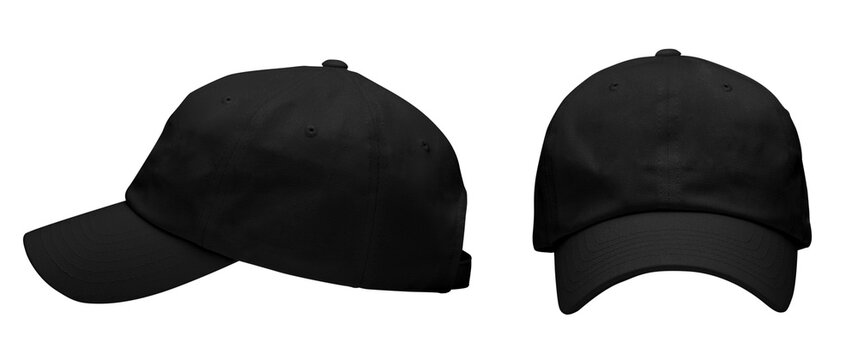 Black hat with no decoration