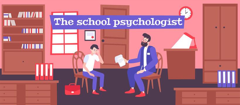School Psychologist Help Composition