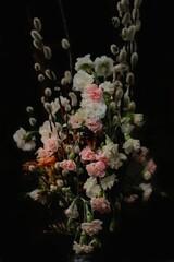 Obraz martwa natura bukiet kwiatów - fototapety do salonu