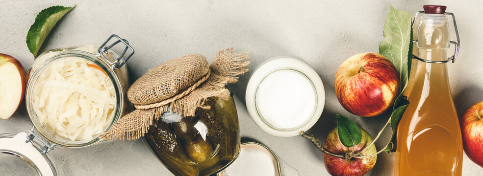 Fermented food, probiotic sources