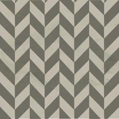 Foto op Canvas ZigZag Seamless vintage pattern of chevron on white grange paper