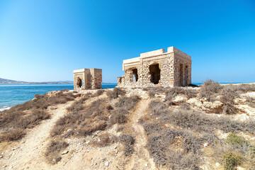 Marcello beach - Cyclades island - Aegean sea - Paroikia (Parikia) Paros - Greece