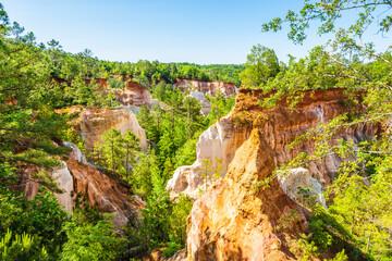 Fototapete - Providence Canyon in Georgia, USA.