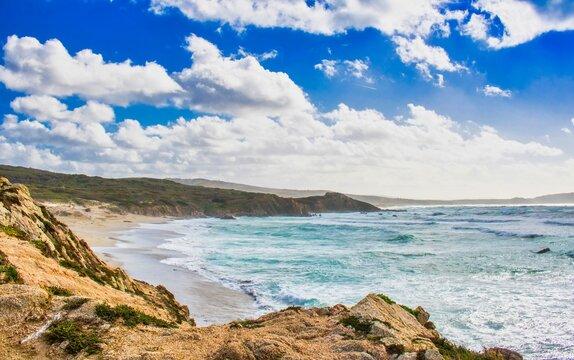 Küste auf Sardinien