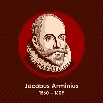 Jacobus Arminius (1560-1609), was a Dutch theologian from the Protestant Reformation period whose views became the basis of Arminianism. He served from 1603 as professor in theology at the University