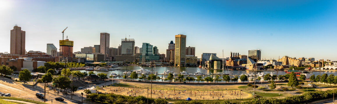 View of Inner Harbor from Federal Hill