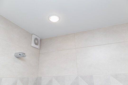 System is air-conditioned in the bathroom. Exhaust fan in the bathroom. Stretch ceiling