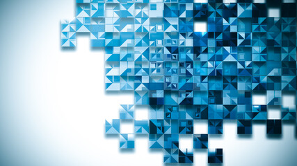 Wall Mural - Abstract technology background