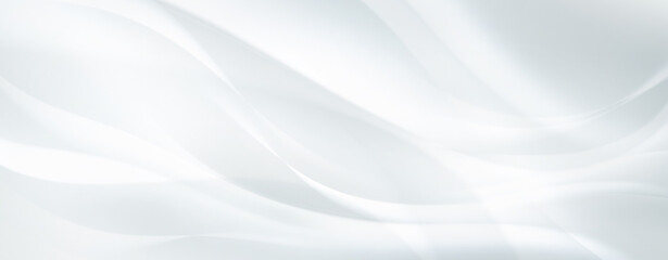 Wall Mural - white background with smooth lines