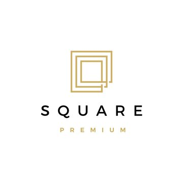 square logo vector icon illustration