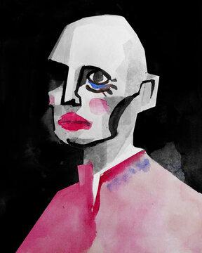 Illustration of monster