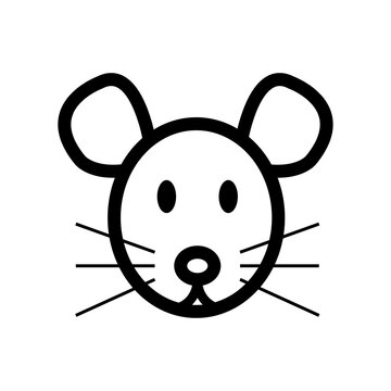 Mouse head icon