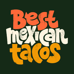 Best mexican tacos
