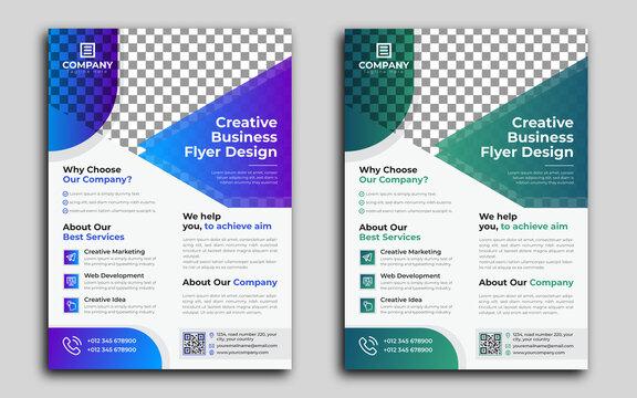 Creative Business Flyer Design Corporate flyer template