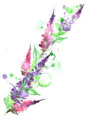 Papiers peints Peintures flora