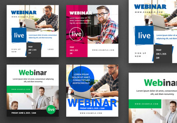 Webinar Social Media Post Layouts