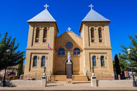 Basilica of San Albino in Las Cruces New Mexico