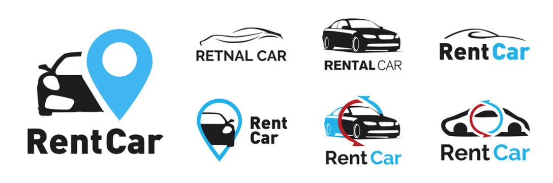 Vector logo for a car rental company