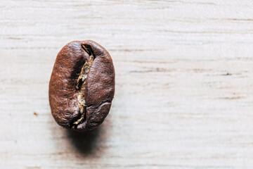 Tuinposter koffiebar Close up sur des grains de café - Arrière plan aliments