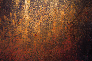 Photo Blinds Metal Grunge rusted metal texture, rust and oxidized metal background. Old metal iron panel.