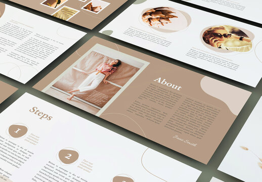 Presentation Layout for Online Course