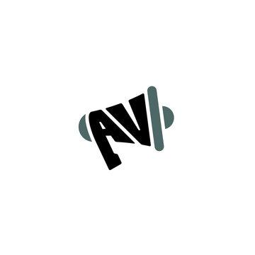 AV Megaphone logo / icon design