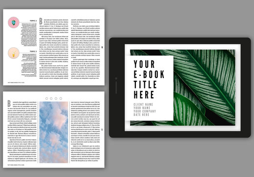 Interactive Ebook Layout