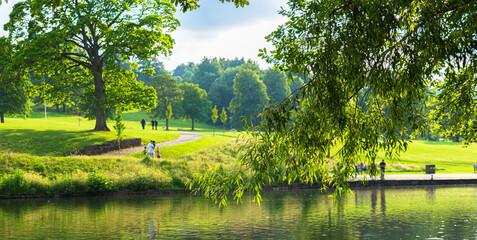 Shibden Park in Halifax, West Yorkshire