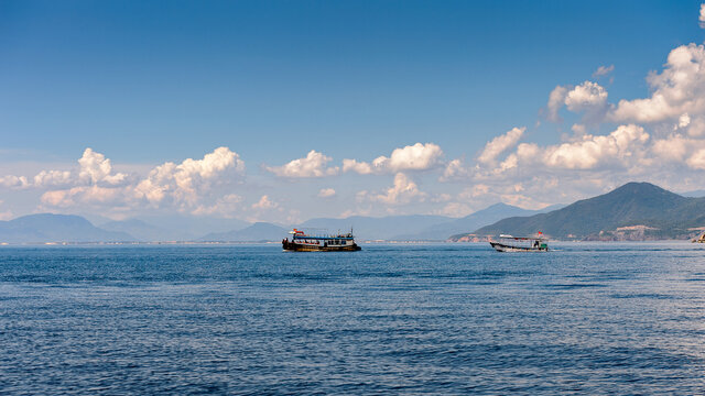It's Beautiful nature of the South China Sea