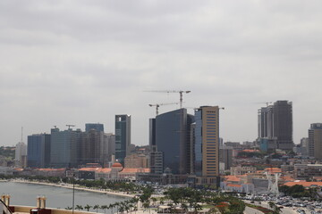 Canvas Prints Countryside Luanda skyline