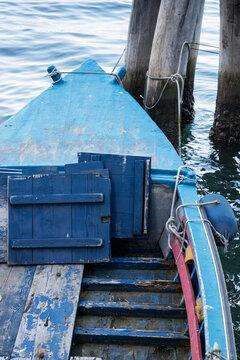 I colori delle barche da pesca Chioggia (Venezia)