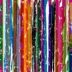 abstract background, with stripes, paint strokes and splashes, grungy