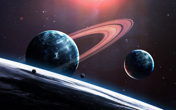 Some planets in deep space