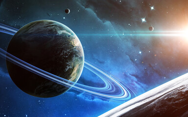 Wall Mural - High quality science fiction cosmos