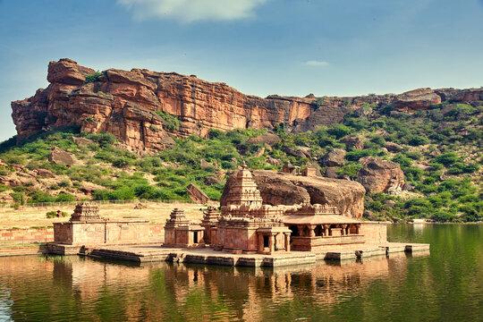 Bhutanatha Temples in Badami, Karnataka, India
