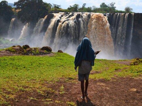 Blue Nile waterfall