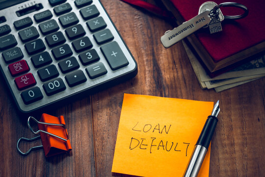loan default word on note