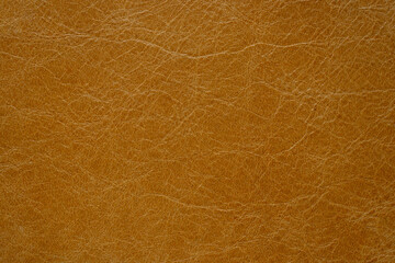 dark brown genuine leather as a closeup background,