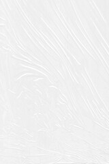 White saran plastic warp wrap texture overlay