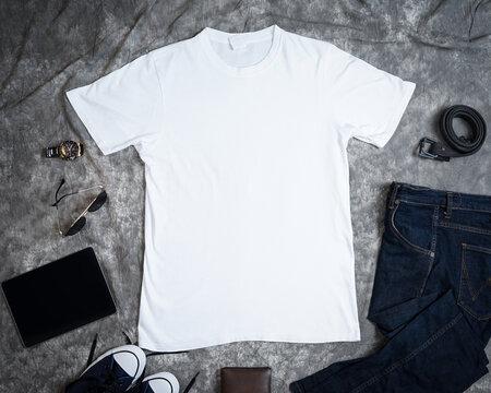white shirt mockup