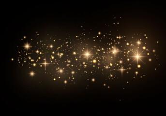 Dust sparks sparkle