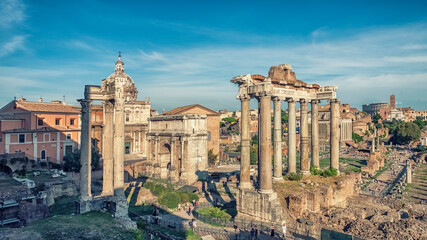 Wall Mural - The Roman Forum in Rome
