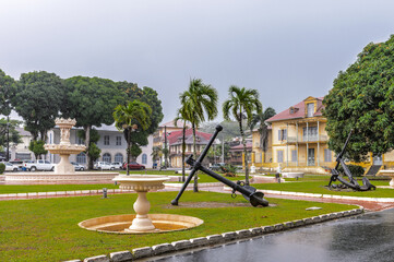 It's Museum Departmental Franconie in Cayenne, French Guiana.