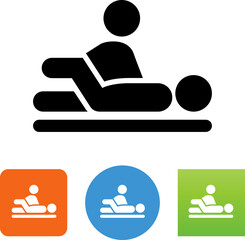 Physical Therapy Table Vector Icon