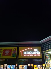 OBERHAUSEN, NRW, GERMANY - DECEMBER 10, 2019: Entrance to LEGOLAND Discovery at the Oberhausen Center in Oberhausen